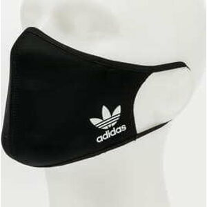 adidas Originals 3Pack Face Cover Medium / Large černá
