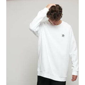 adidas Originals Essential Crew bílá L
