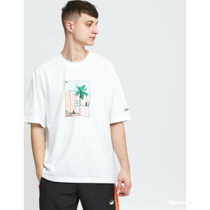 adidas Originals Hand Deawn Tee bílé XL