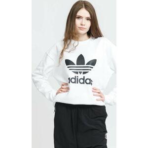 adidas Originals Trefoil Crew Sweat bílá M