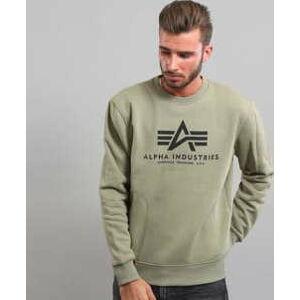 Alpha Industries Basic Sweater olivová XXL