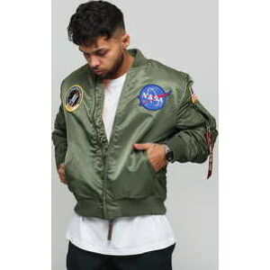 Alpha Industries MA - 1 VF NASA olivová S