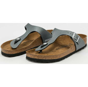 BIRKENSTOCK Gizeh BS icy metallic anthracite EUR 41