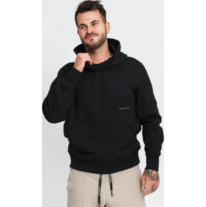 CALVIN KEIN JEANS Off Placed Iconic Hoodie černá