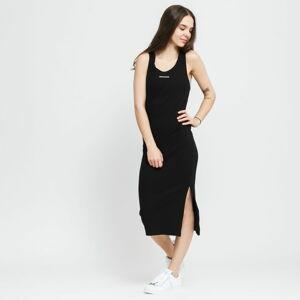 CALVIN KLEIN JEANS W Micro Branding Strappy Dress černé L