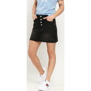 CALVIN KLEIN JEANS W Mid Rise Mini Skirt da095 black shank rwh 30