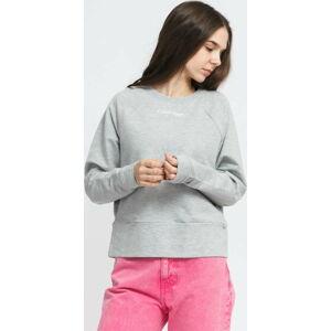 Calvin Klein LS Sweatshirt melange šedá L