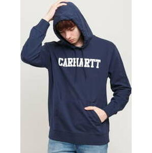 Carhartt WIP Hooded College Sweat tmavě modrá XL
