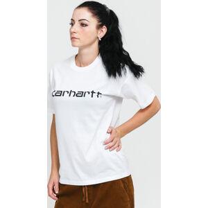 Carhartt WIP W' SS cript T-shirt bílé