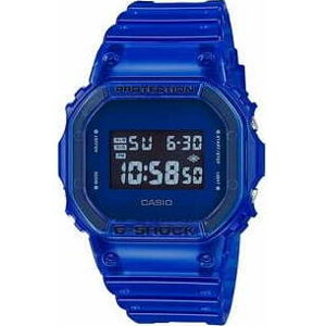 "Casio G-Shock DW 5600SB-2ER ""Color Skeleton Series"" modré"