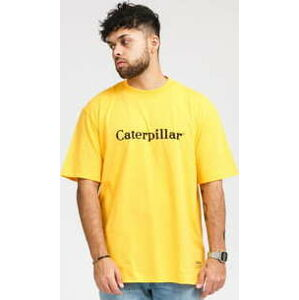 CATERPILLAR Basic Tee žluté XL