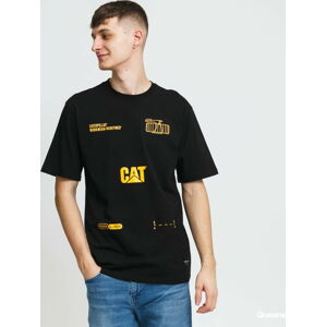 CATERPILLAR CAT Machinery Tee černé XL