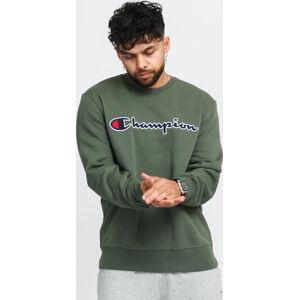 Champion Crewneck Sweatshirt zelená
