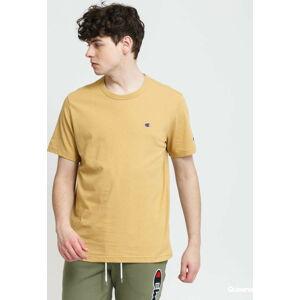 Champion Crewneck T-Shirt béžové XL