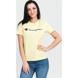 Champion Crewneck T-hirt žluté