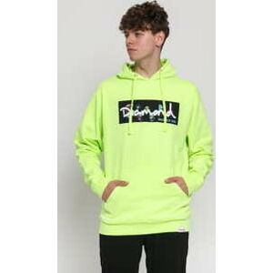 Diamond Supply Co. Color Box Logo Hoodie neon zelená M