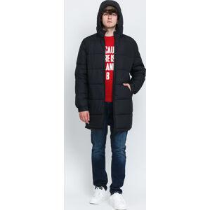 Ecoalf Vintagalf Reversible Jacket černá / hnědá
