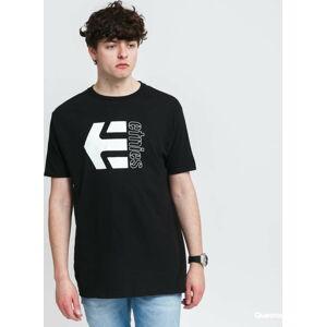 etnies Corp Combo Tee černé XXL