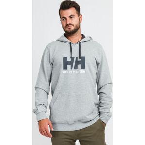 Helly Hansen ogo Hoodie šedá / černá