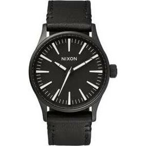 Nixon Sentry 38 Leather černé