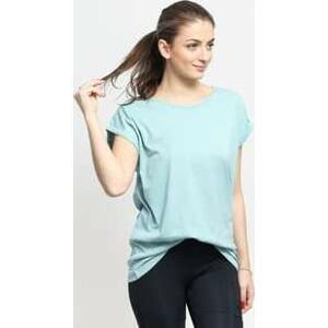 Urban Classics Ladies Extended Shoulder Tee tyrkysové M