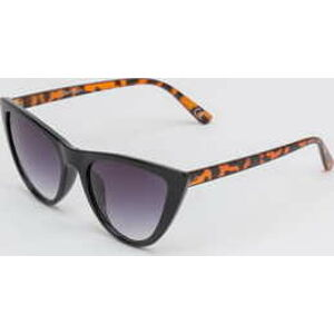 Jeepers Peepers Black Tort Cat Eye Sunglasses černé