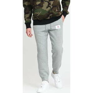 Jordan M J Flight Fleece Pant melange šedé M