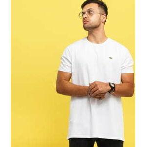 LACOSTE Base T-shirt bílé S