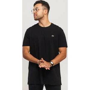 LACOSTE Base T-shirt černé M