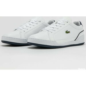 LACOSTE Challenge Leather white / navy EUR 46