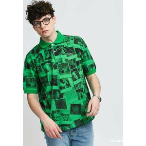 LACOSTE Lacoste LIVE x Polaroid Loose Fit Print Polo Shirt XXL