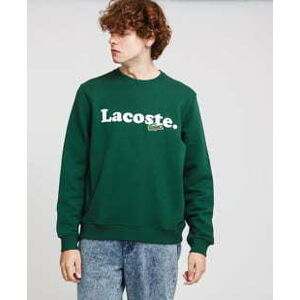 LACOSTE Men's Lacoste And Crocodile Branded Fleece Sweatshirt XL