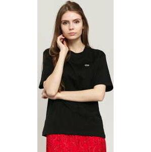 LACOSTE Women's T-Shirt černé L
