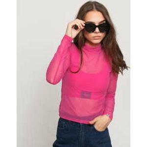 LAZY OAF LO Sheer Turtleneck růžové M