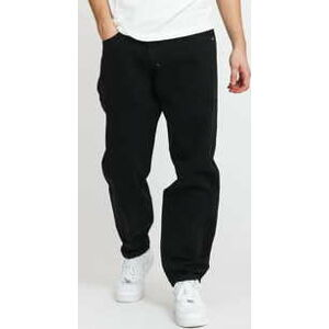 Mass DNM Slang Baggy Fit Pants black stone washed 38