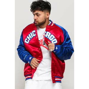 Mitchell & Ness NBA All Star Chicago Satin Jacket červená / modrá L