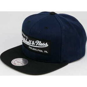 Mitchell & Ness Solid Team Colour Snapback navy / černá