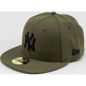 New Era 5950 MLB League Essential NY olivová 7 3/8 (58.7 cm)