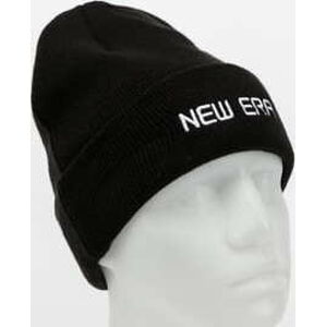 New Era Essential Cuff Knit New Era černý