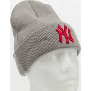 New Era MLB League Essential Cuff Knit NY šedý
