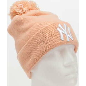 New Era WMNS Bobble Knit NY růžový