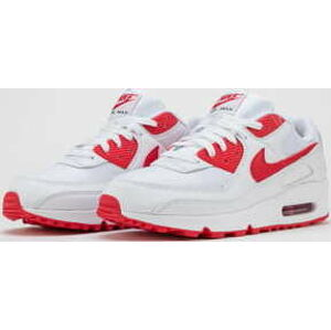 Nike Air Max 90 white / hyper red - black EUR 47.5