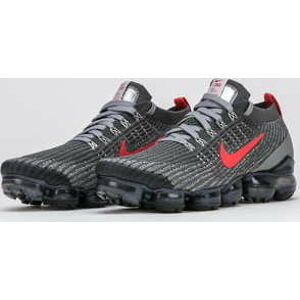 Nike Air Vapormax Flyknit 3 iron grey / track red EUR 43