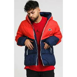 Nike M NSW Down Fil WR Jacket Shield navy / červená XL
