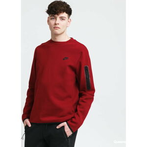 Nike M NSW Tech Fleece Crew vínová XL
