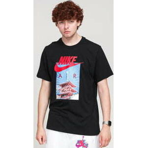 Nike M NSW Tee Air Photo Tee černé L