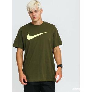 Nike M NSW Tee Icon Swoosh tmavě olivové