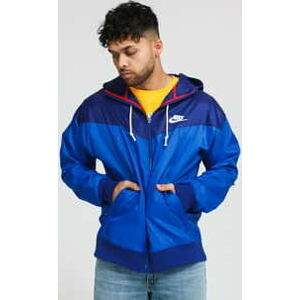 Nike M NSW WR Jacket HD Revival modrá / navy XL