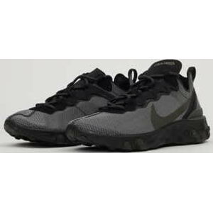 Nike React Element 55 black / sequuioia - medium olive EUR 40.5
