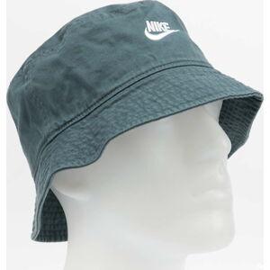 Nike U NSW Bucket Futura Wash zelený M-L
